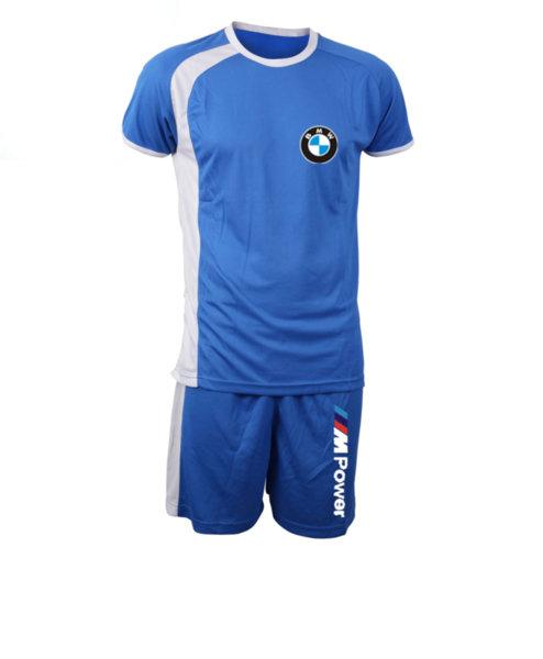 Καλοκαιρινή Αθλητική Φορμα Πολυεστέρα BMW M-POWER - Μπλουζάκι και Σόρτς Κολύμβησης