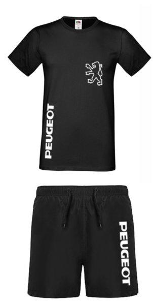 Καλοκαιρινή Αθλητική Φόρμα Πολυεστέρα PEUGEOT - Μπλουζάκ