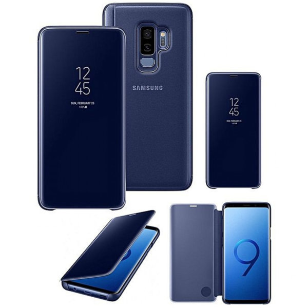 Калъф Clear View Stand Cover Samsung Galaxy S9 / S9 Plus