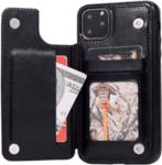 Кожен кейс портфейл със слотове за кредитни карти за Samsung Galaxy A70-Copy
