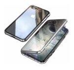 360 градусов кейс с протектор и магнитно затваряне за iPhone SE 2020