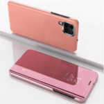 Калъф Clear View Stand Cover за Samsung Galaxy A12-Copy
