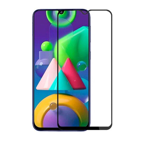 5D Full Glue стъклен протектор за целият екран за Samsung Galaxy M21