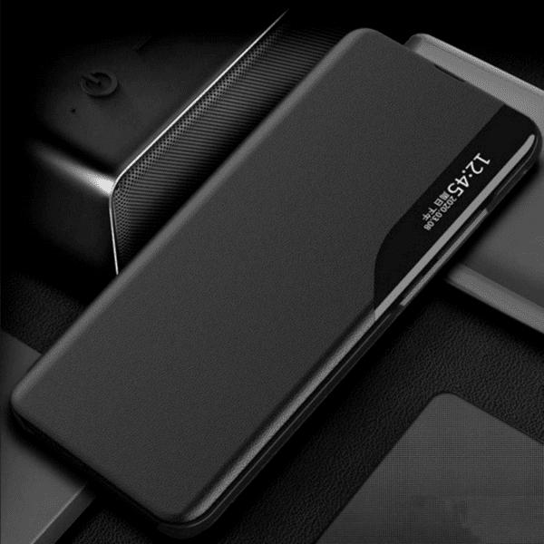 Smart View Leather Flip Cover за Realme 8 Pro