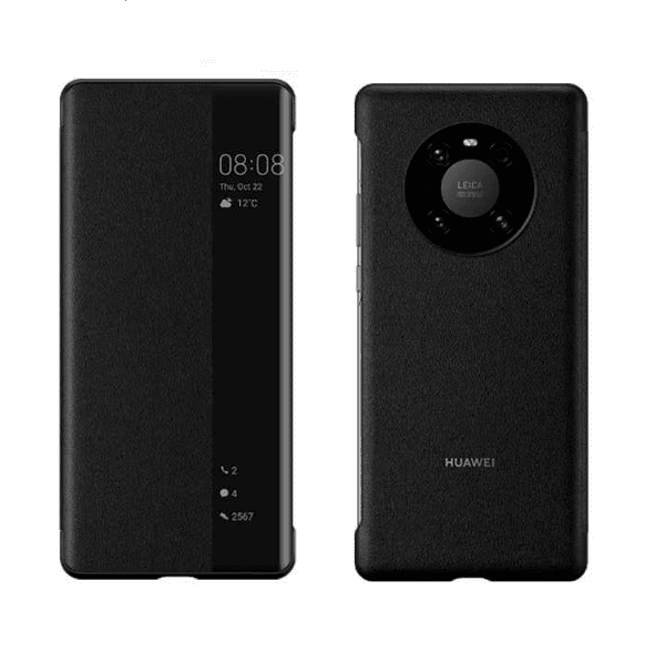 Smart View Leather Flip Cover за Huawei Mate 40 Pro