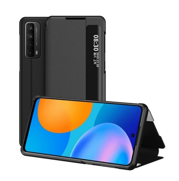 Smart View Leather Flip Cover за Huawei P Smart 2021