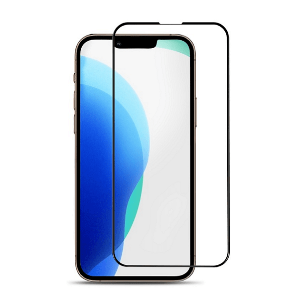 5D Full Glue стъклен протектор за целият екран за iPhone 13 / 13 Mini / 13 Pro / 13 Pro Max