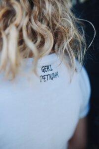 Бяла Тениска Paris is always a good idea Гери Петкова