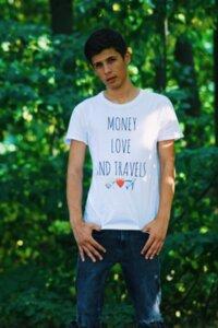 Тениска Money Love And Travels Alexandar