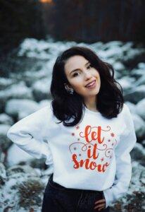 Зимен блузон Let it snow Гери Петкова