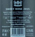 Villa Melnik Sweet Wine
