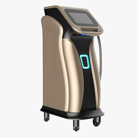 Laser profesional cu diodă pentru epilare definitivă, cu 3 lungimi de undă de lucru
