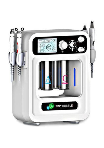 Aparat de Hidradermabraziune, Oxigen, RF și Spatulă cu Ultrasunete