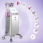 8 în 1 Aparat de nouă generație de cavitație, SMART RF pentru față și corp, Lipolaser, vacuum și Biostimulare