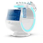 Sistem combinat de hidrodermabraziune și analizor de piele 7 în 1