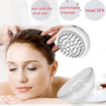 Perie pentru creștere a părului 4 în 1 cu stimulare electrică, masaj, infraroșu și terapie cu ioni