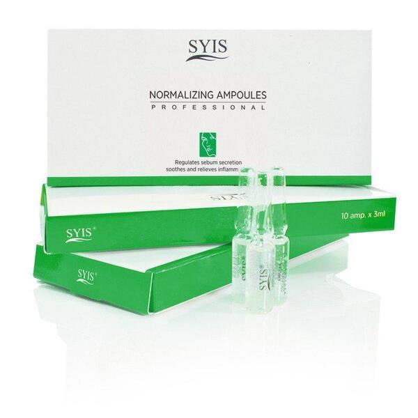 Fiola pentru reglarea secretiei de sebum si calmarea inflamatiilor SYIS - 3ml