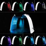 Lumini LED profesionale pentru față și corp, 7 culori, cu abur cald și rece