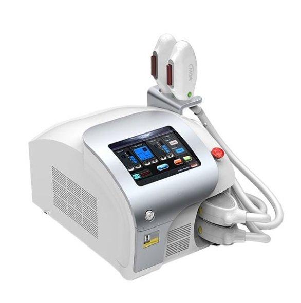 Aparat de epilare, fotorejuvenare, tratament al acneei, pigmentare și capilare SHR și E-light combinate.