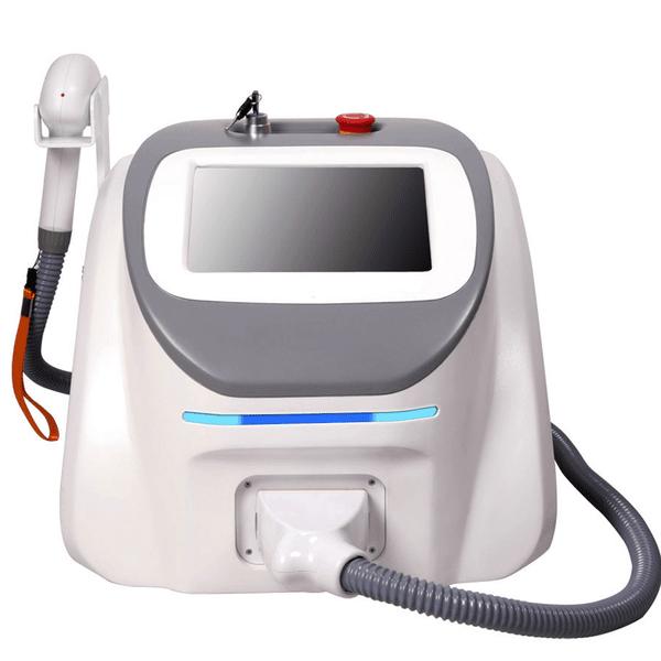 Laser cu diodă cu răcire fără canal