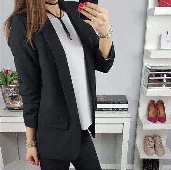 Стилно дамско сако
