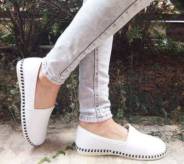 Дамски ежедневни обувки от плат