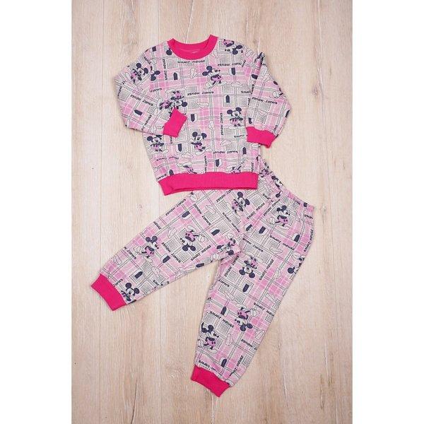 Детска памучна пижама за момиченца