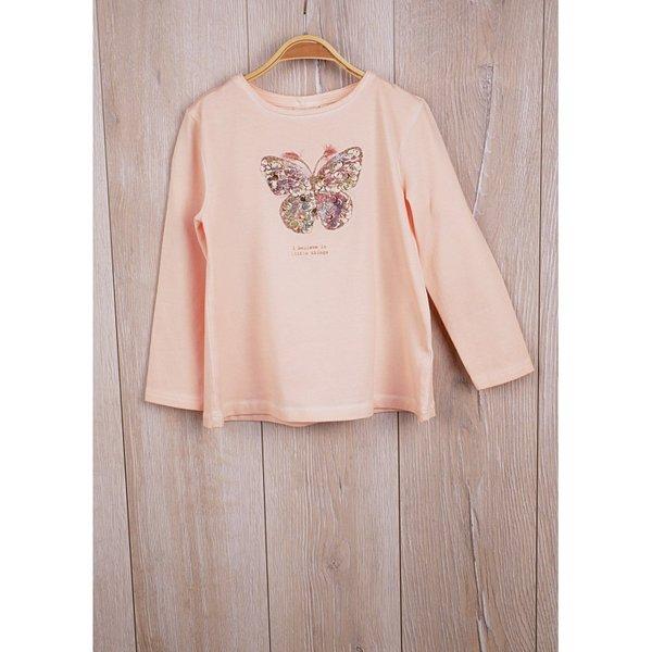 Памучна блузка за момиченца ''Пеперуда''