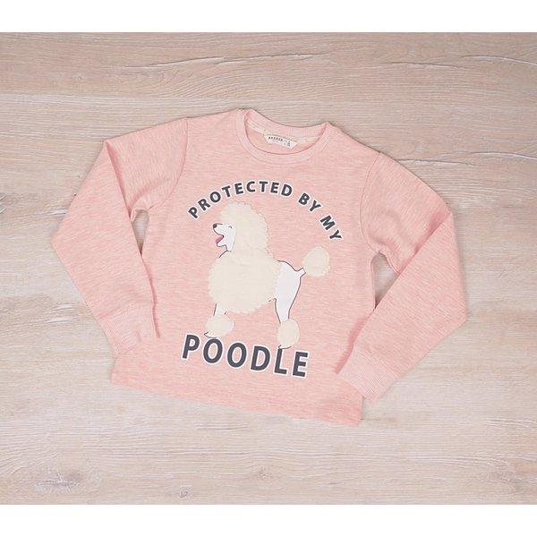 Детска блузка за момичета с  апликация ''Пуделче''