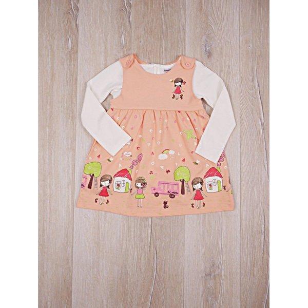 Модерен детски комплект-рокличка с блузка