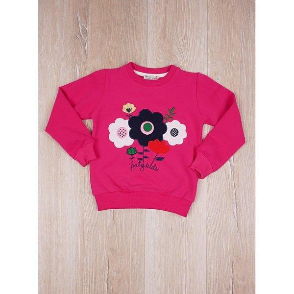 Детска блузка с апликация ''Цветя''