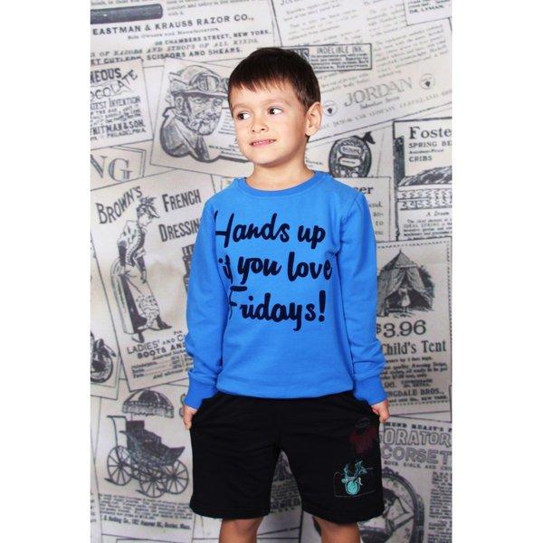 Памучна блузка за момче