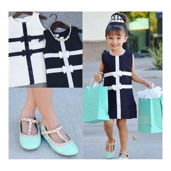 Сладки рокли за ''мама и бебе'' с панделка
