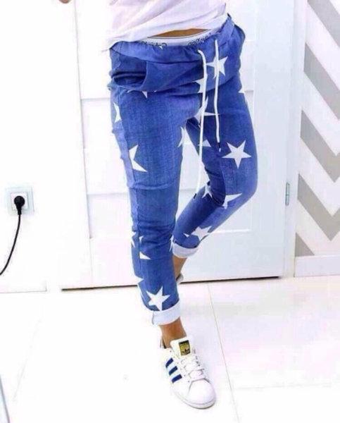 Модерен спортен панталон ''Звезда''
