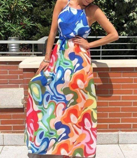 Лятна дамска ефирна рокля