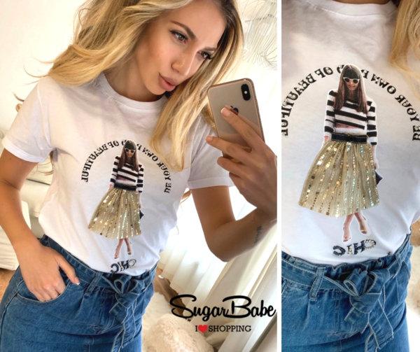 Модерна тениска ''Girl''