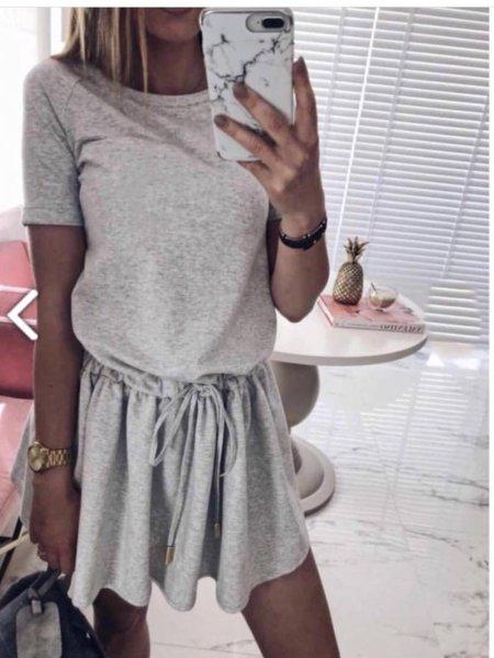 Кокетна памучна рокличка