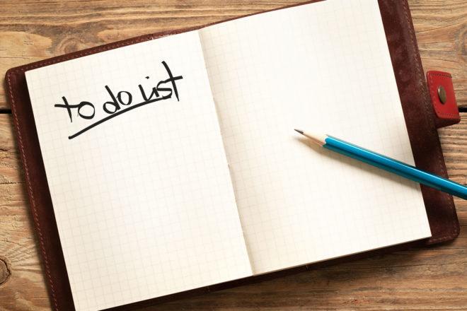 Изкуството да създадеш списък със задачи, който работи