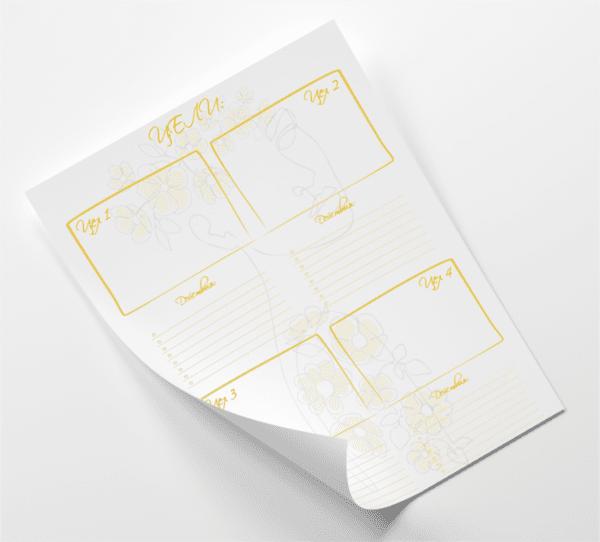 Списък цели - жълто