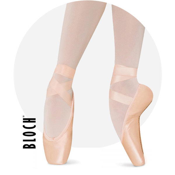 Hannah strong satin Ballet Pointe Shoes