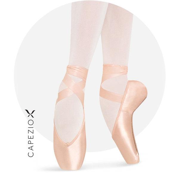 Hannah strong satin Ballet Pointe Shoes
