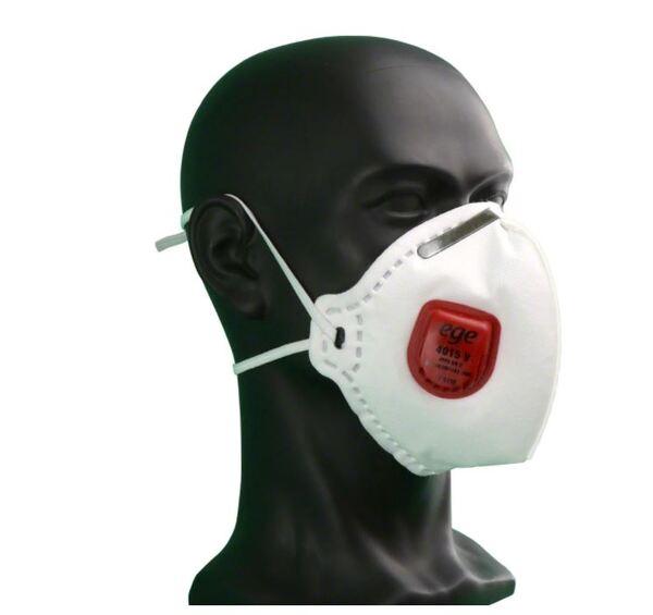 FFP3 Сертифицирана респираторна предпазна маска EGE, Бял, Унисекс