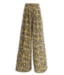 Широк дамски панталон с висока талия