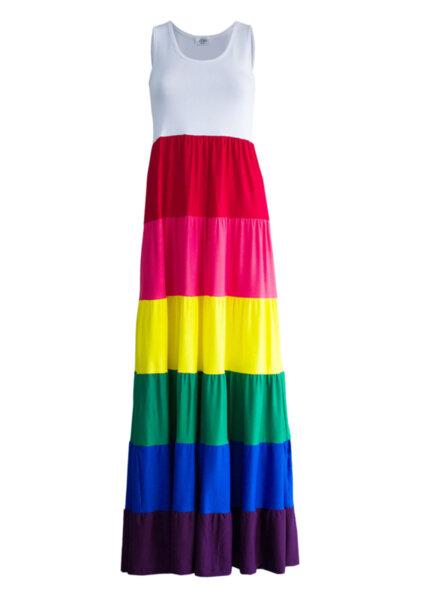 Дълга рокля RAINBOW CANDY