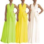 Дълга шаферска рокля ORCHIDEA