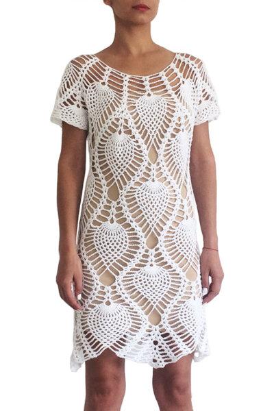 Плетена рокля PINEAPPLE