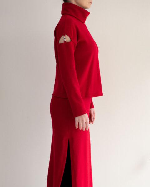 Пуловер фино плетиво KATYA