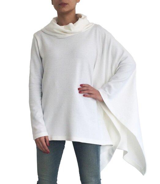 Пуловер PONCHO ASYMMETRIC