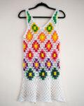 Плетена плажна рокля