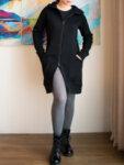 Суитчър-рокля  с качулка SPACE